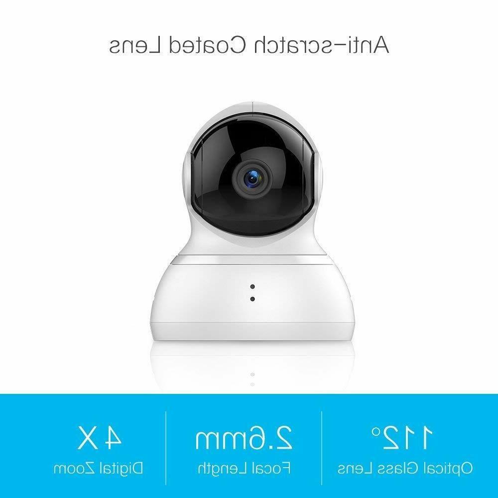 YI Dome Camera Pan/Tilt/Zoom Wireless IP Indoor Security Sur