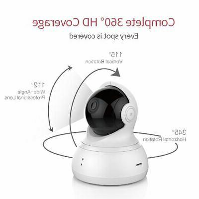 YI Dome HD 1080p, w night two-way audio,