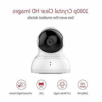 YI Dome Camera HD 1080p, two-way audio,