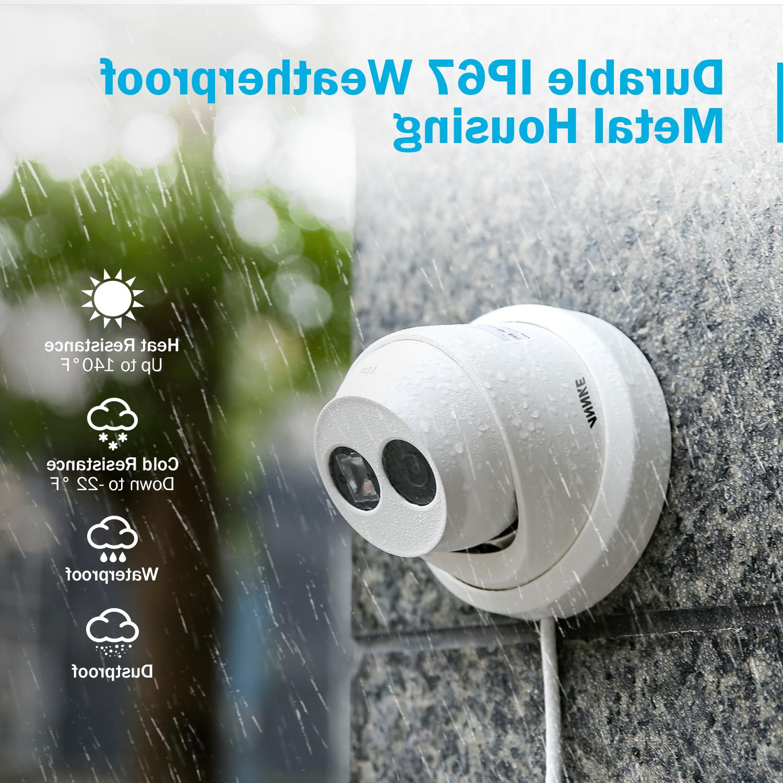 <font><b>ANNKE</b></font> Ultra 8MP <font><b>Camera</b></font> 4K Outdoor Indoor Network Dome Vision Alert CCTV Kit