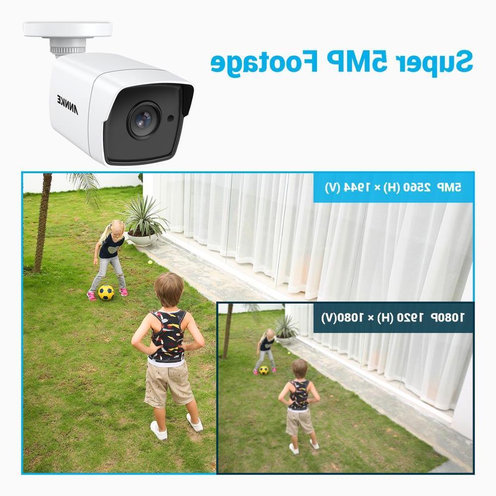 <font><b>ANNKE</b></font> 5MP TVI Outdoor Weatherproof Surveillance EXIR Vision Alert