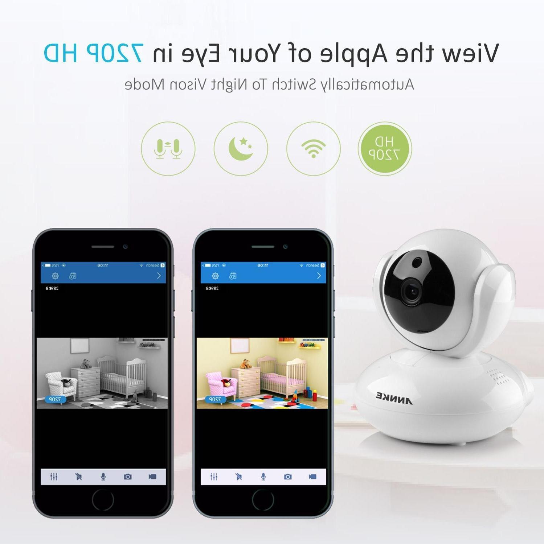 Pan&Tilt Wireless <font><b>Camera</b></font> Network Baby
