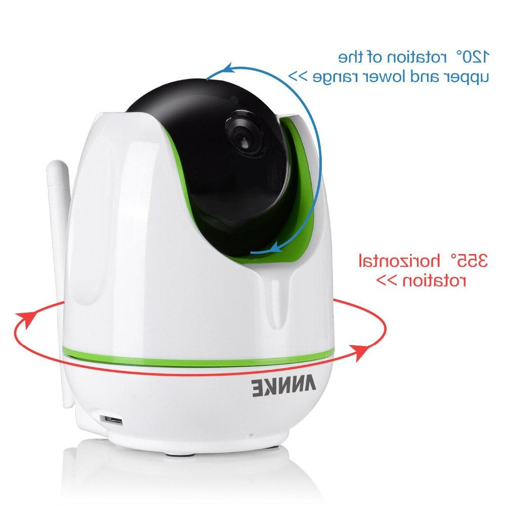 <font><b>ANNKE</b></font> HD Wireless WiFi IP 1.3MP Pan/Tilt Network IR <font><b>Camera</b></font> Baby Cam