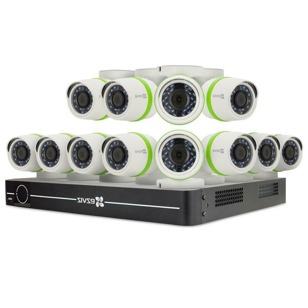 Ezviz FULL HD 1080p 12 Cameras HDD