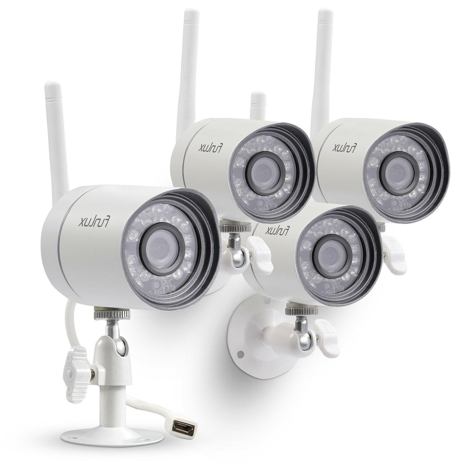 funlux wireless security camera system smart home