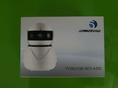 indoor security camera new in box