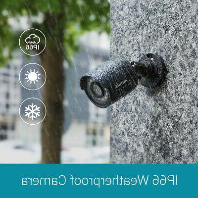 ANNKE 8CH 1080P DVR 6x 3000TVL Outdoor CCTV Camera