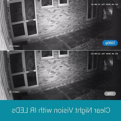 ANNKE 8CH 1080P HDMI Outdoor Camera System