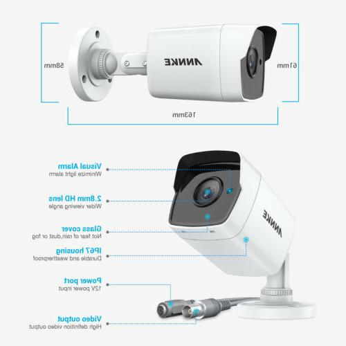 ANNKE H.265 16CH DVR Security System IR