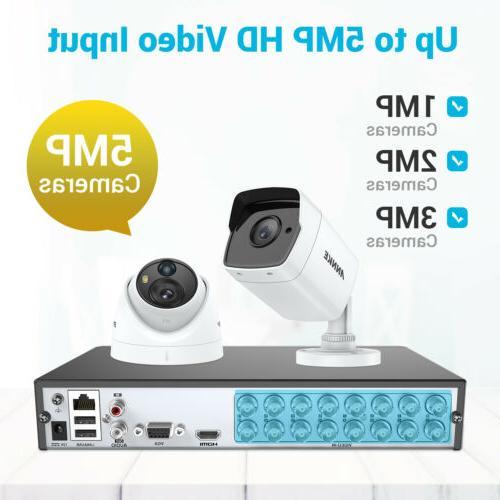 ANNKE H.265 5MP Outdoor CCTV Security Camera IR Night