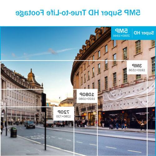 ANNKE 5in1 Ultra HD 4K DVR System CCTV IR