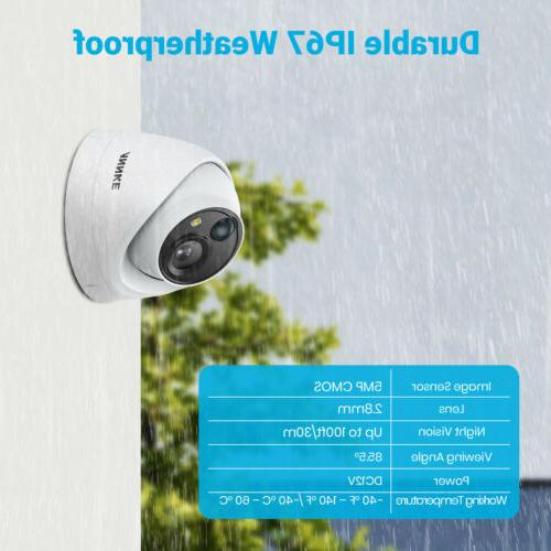 ANNKE H.265+ 5MP PIR Outdoor Security IP67