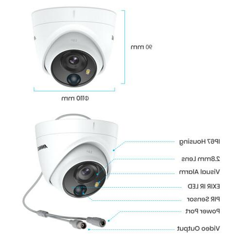 ANNKE H.265+ 8CH 5MP Video Outdoor Camera IP67