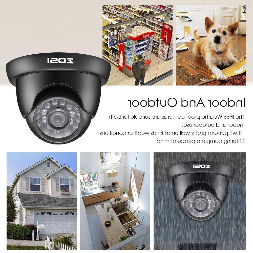 ZOSI HD 8CH HDMI Outdoor Home Camera System