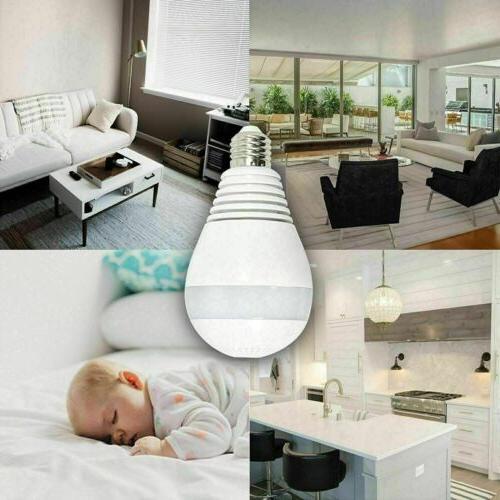 HD 1080P 360 Panoramic Hidden Wifi Light Home Lamp Cam