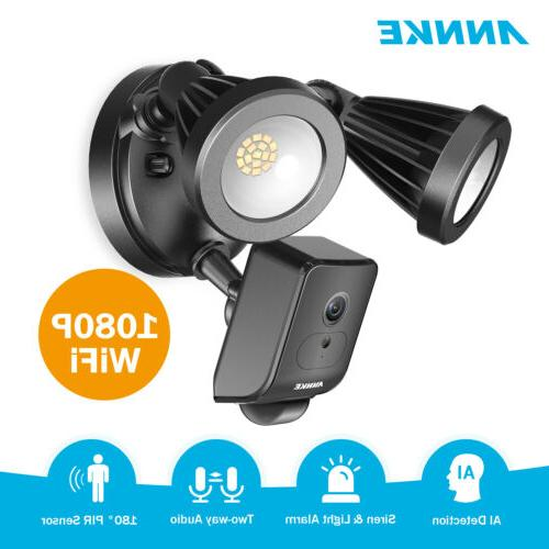 hd 1080p floodlight security camera pir motion