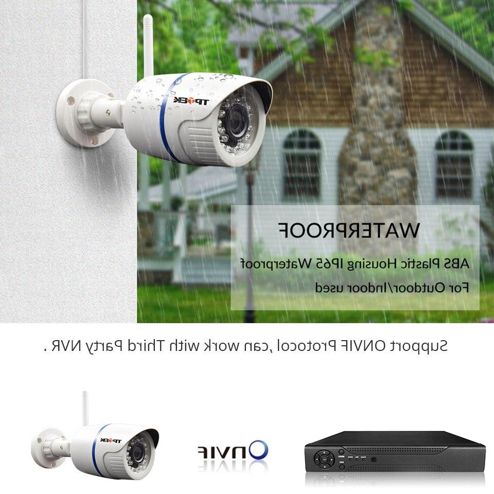HD <font><b>Camera</b></font> 720P 3MP <font><b>Surveillance</b></font> Waterproof Onvif Cam