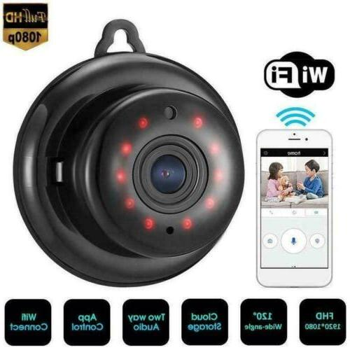 1080P Wireless WiFi CCTV Indoor/Outdoor HD MINI IP Camera CA