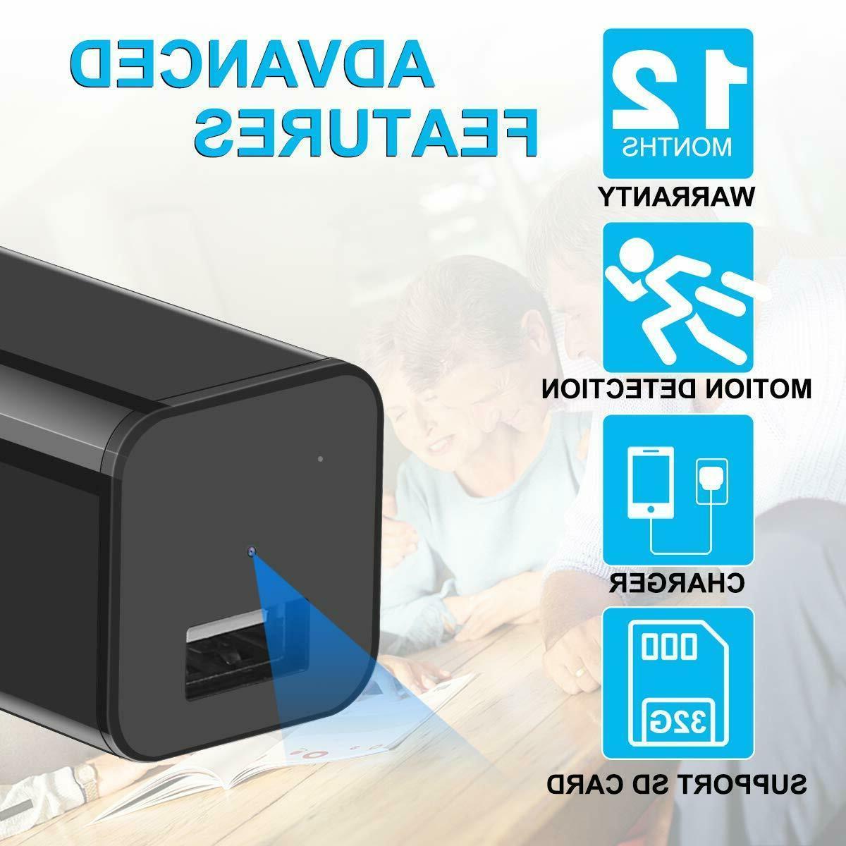Hidden Spy Mini Camera 1080P Full Motion 32GB