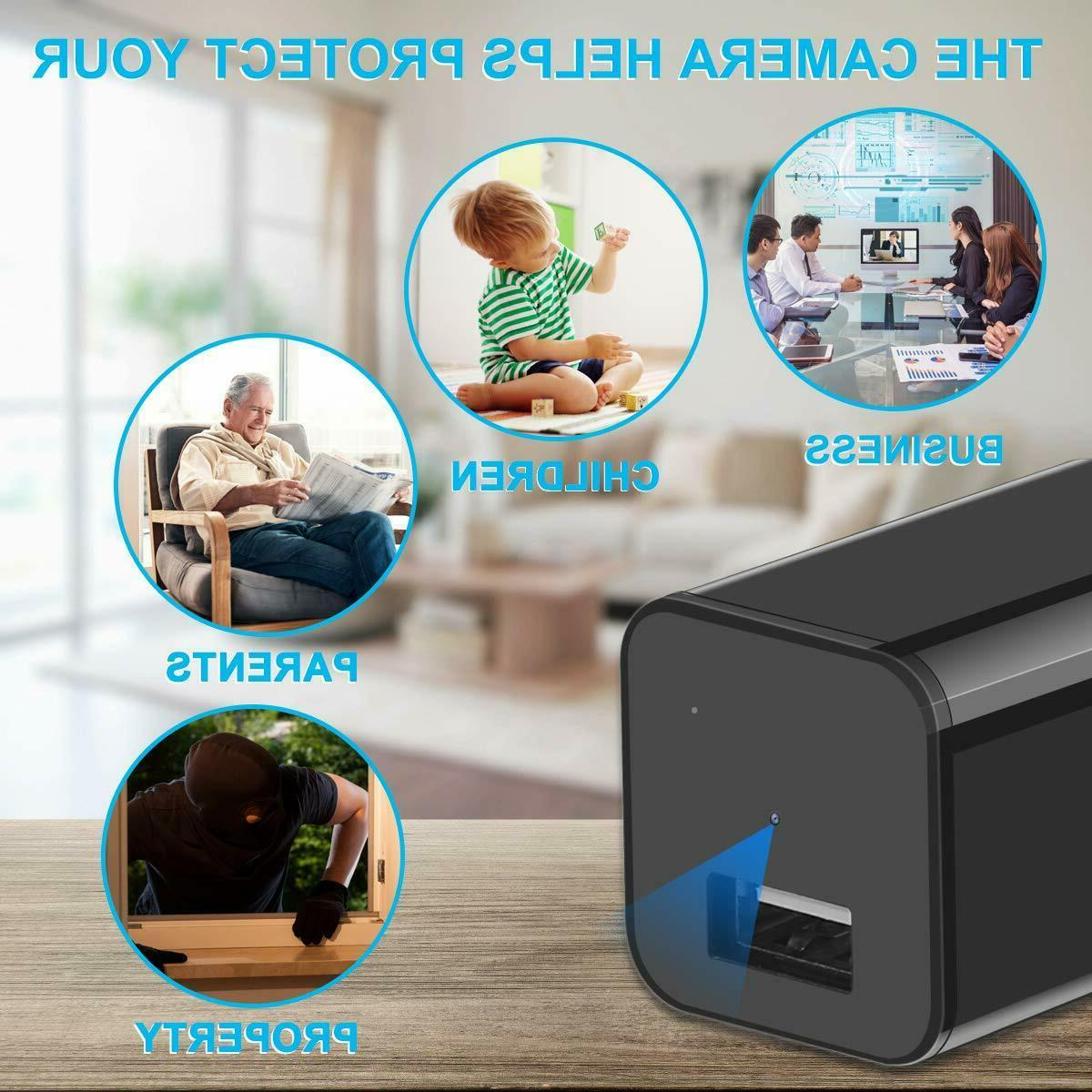 HD Spy Hidden Camera USB Charger Recorder Cam to 32GB