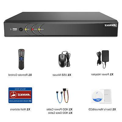 ANNKE DVR Smart Security Camera System