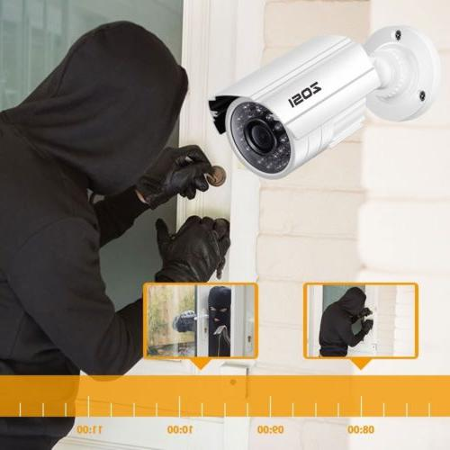 ZOSI HDMI 8CH 720P CCTV Security Camera Night