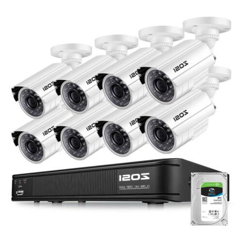 hdmi 8ch 720p cctv ir outdoor security