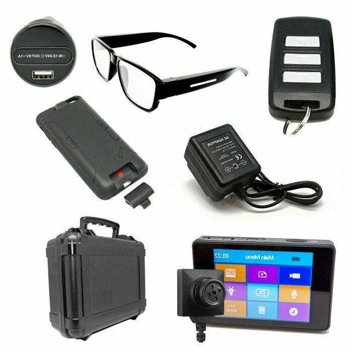 LawMate Hidden Camera Portable Surveillance Kit LM2000 w Tactical NEW