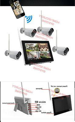 Home System 32GB IP Wireless House