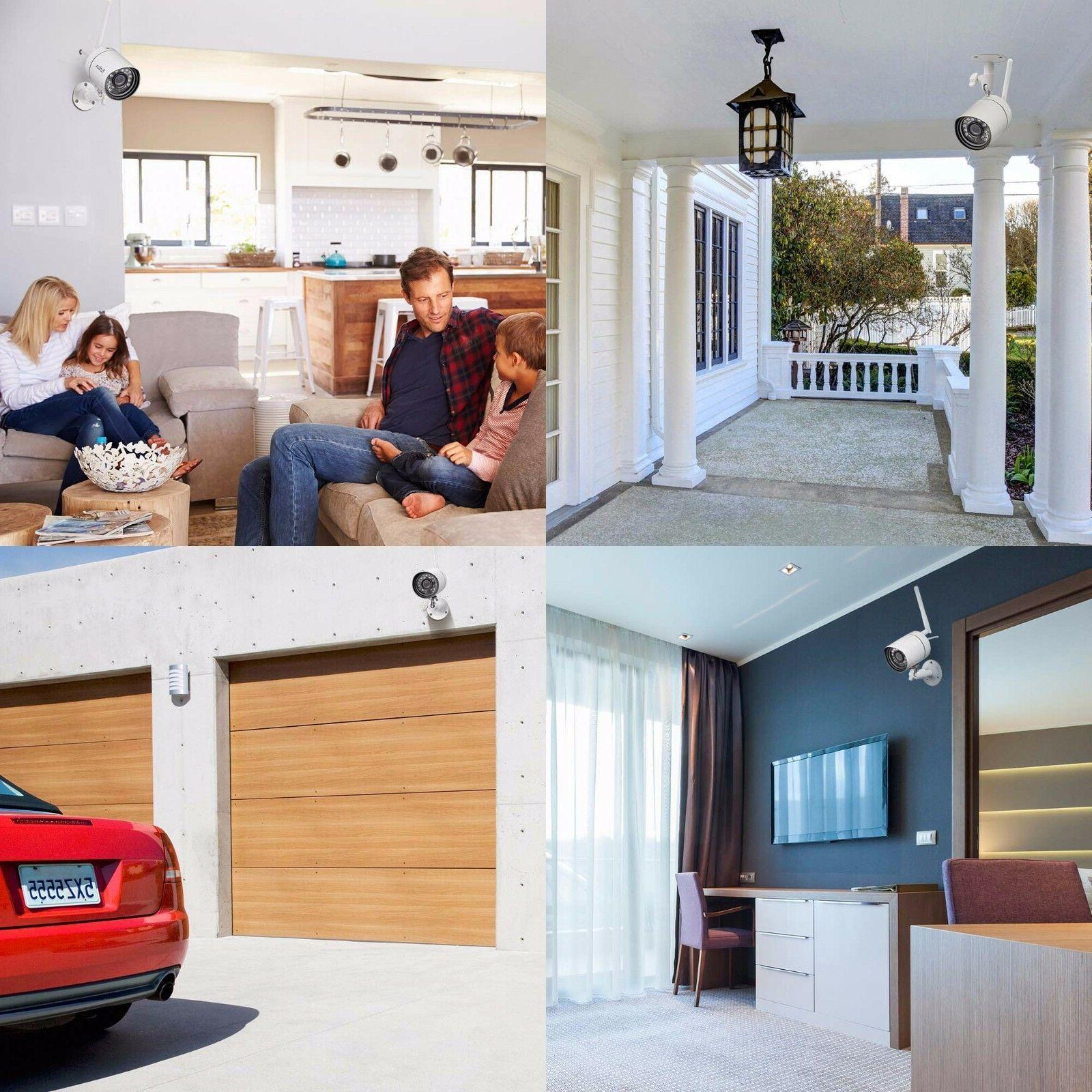 Funlux HD Network Wireless Outdoor Indoor Home Security