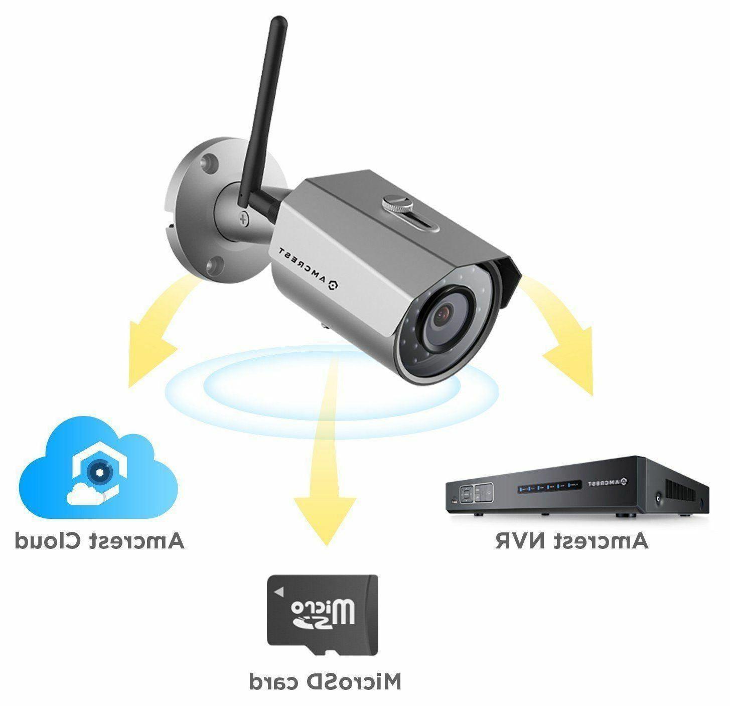 Amcrest Outdoor 3MP IP Security Bullet Cam
