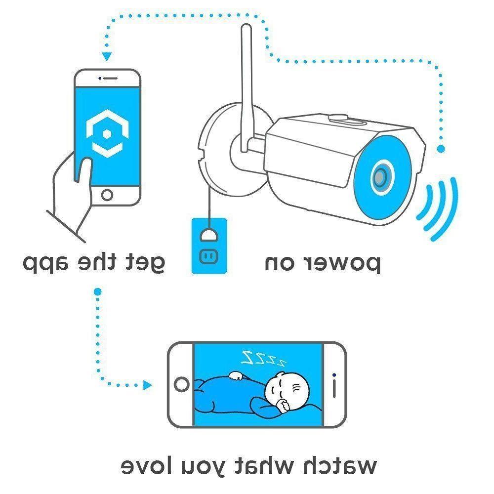 Amcrest Outdoor 3MP IP Security Cam