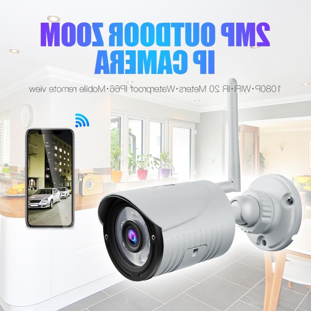 Wanscam K22 HD 2.0MP Wireless <font><b>Camera</b></font> Waterproof Night IR-cuts <font><b>Surveillance</b></font> <font><b>Bullet</b></font>
