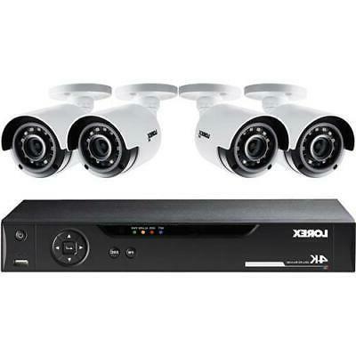 lhv51082t4k 4 cameras 8 channel 4k hd