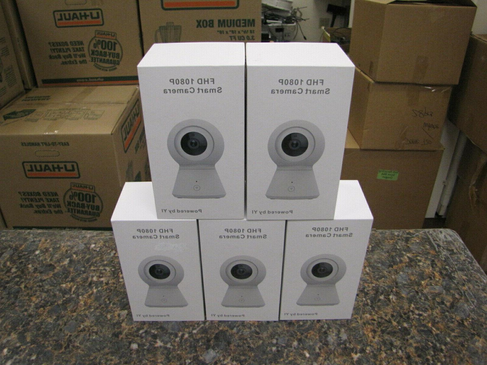 lot of 5 new smart cameras fhd