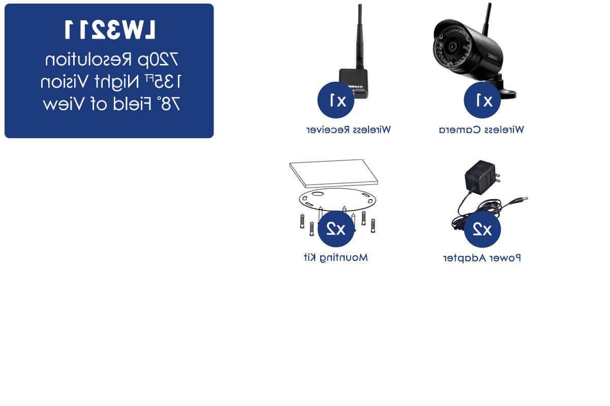 Lorex 720p Outdoor Wireless Camera, 135ft