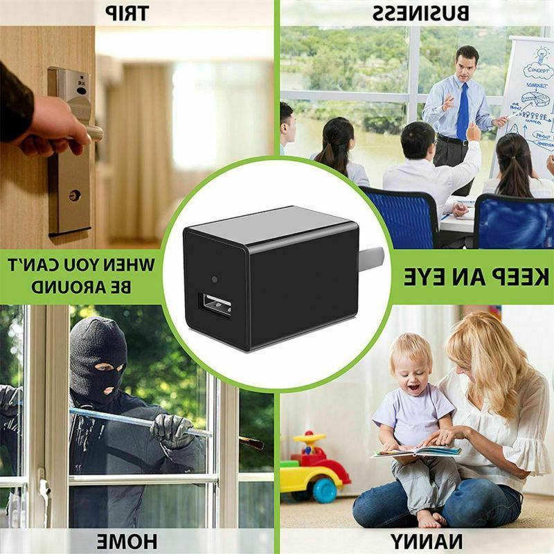 Mini Charger 1080P HD Camcorder Hidden DVR Loop
