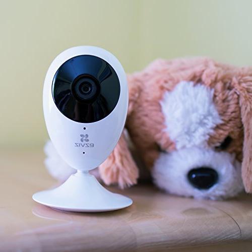 EZVIZ O HD Wi-Fi Monitoring with Alexa Pack