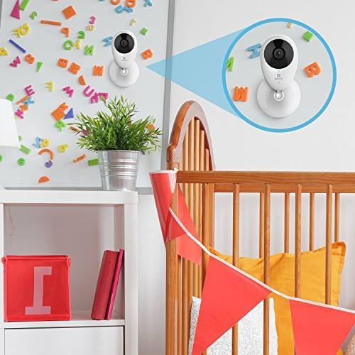 EZVIZ HD Wi-Fi Monitoring Security Camera, with Alexa - Pack