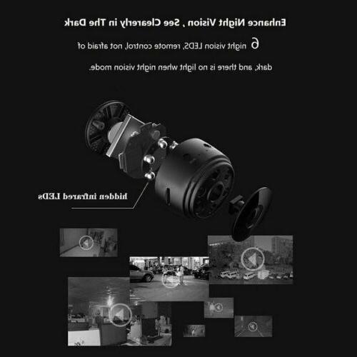 Mini Camera Wireless IP Security Camcorder 1080P DVR Night Vision