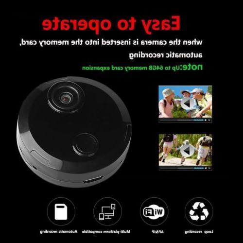 Mini Spy Wifi IP Security Night Vision