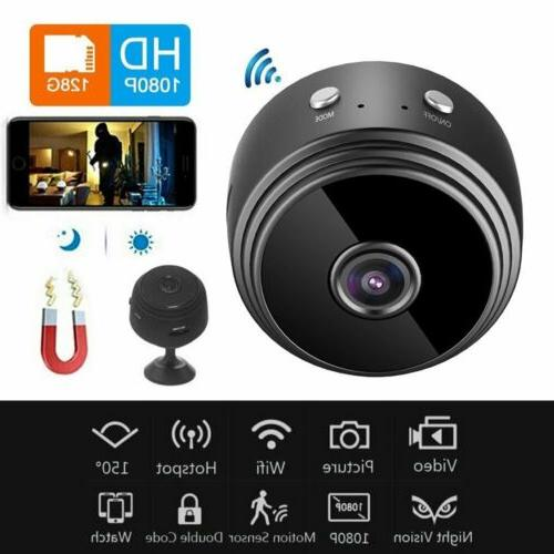 Mini Camera Wireless Wifi IP Security Camcorder HD 1080P DV