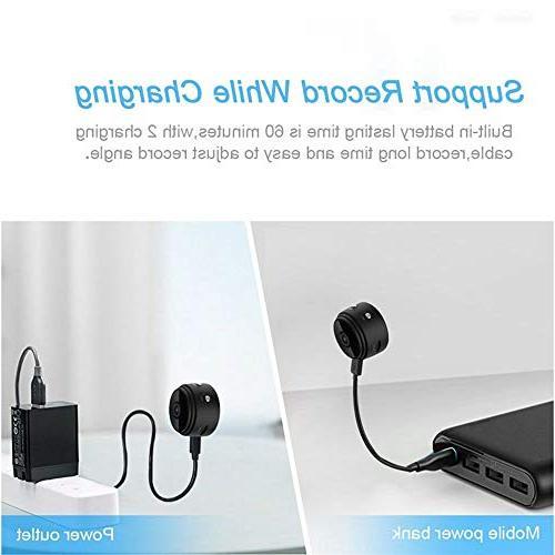 Mini Spy Camera WiFi Hidden Camera Graneywell HD