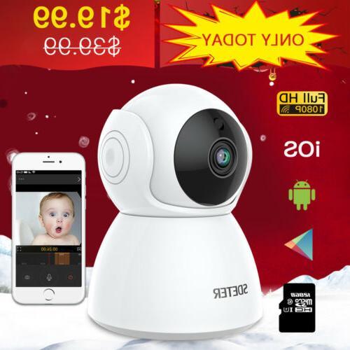 Zmodo 2 Pack WiFi HD Wireless Indoor Security Camera Night V