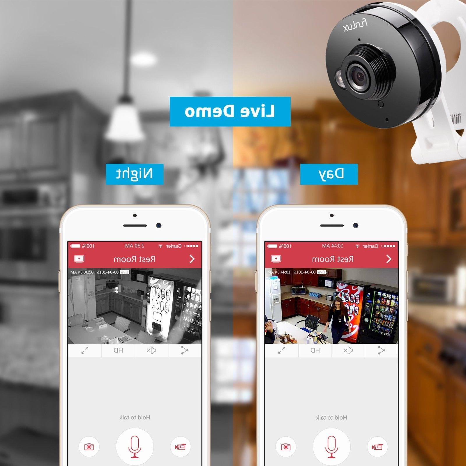 Funlux® Wireless IP Home Security App