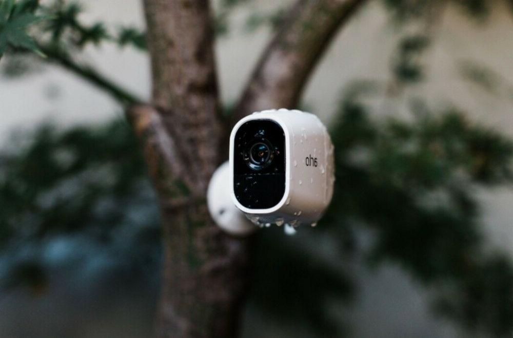 2 1080p Wire-Free Camera with Audio Doorbell