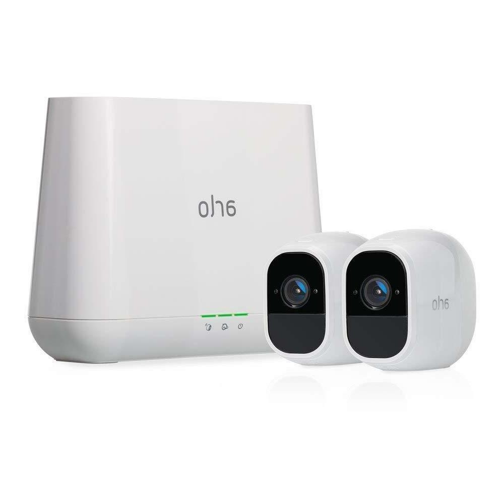 NEW Netgear Arlo Pro 2 1080p Wi-Fi Wire-Free Camera  with Au