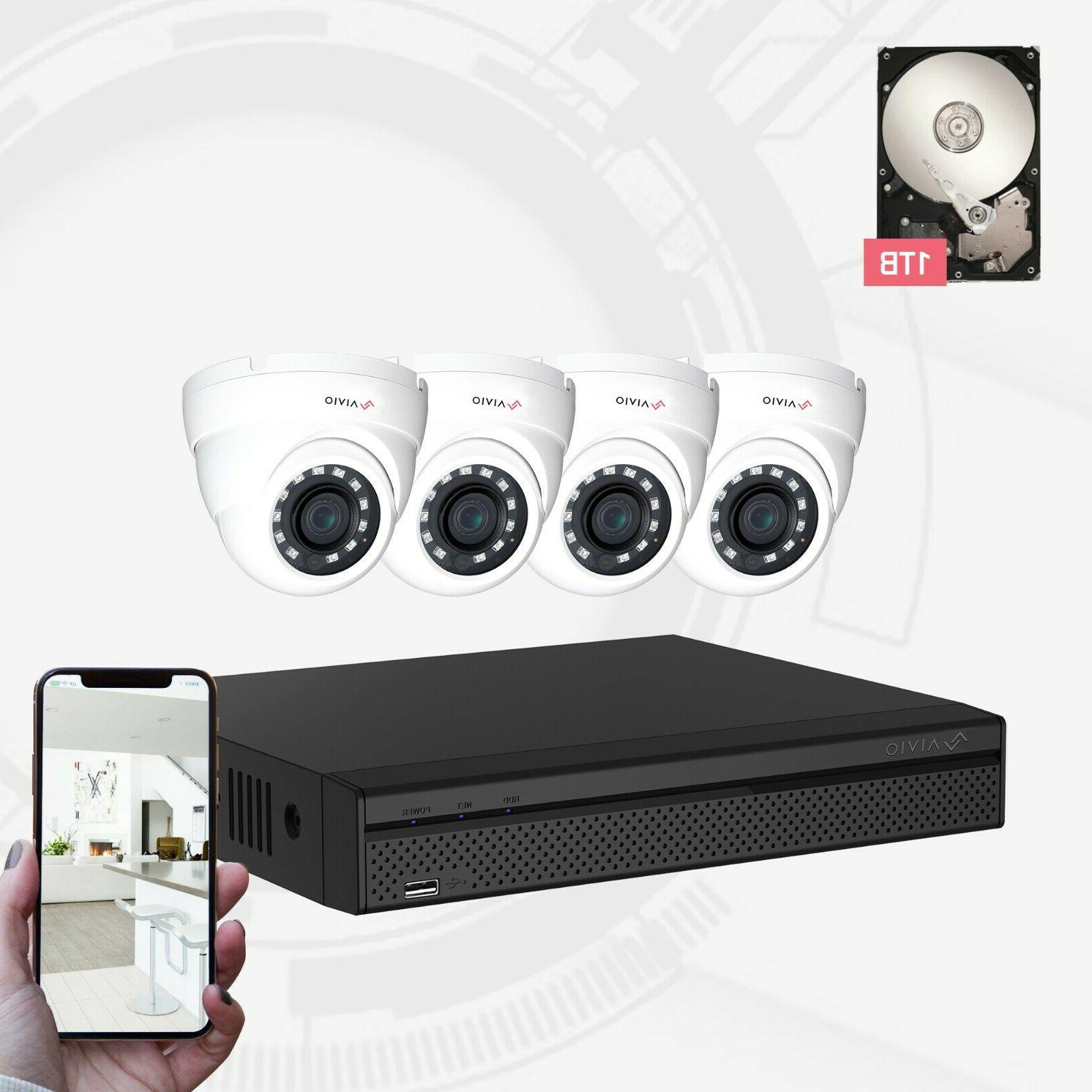 oem aivio 8ch wired security surveillance system