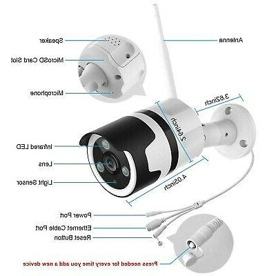Outdoor 1080P Cameras Outdoor WiFi Camer...