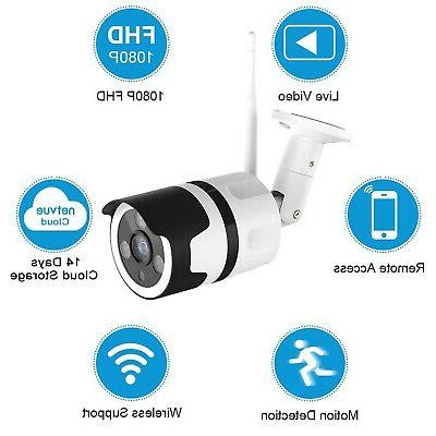 Outdoor Netvue 1080P Surveillance Cameras Outdoor WiFi Camer...